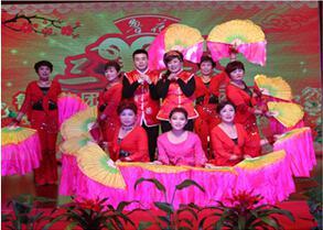 公司举办2015年春节团拜会